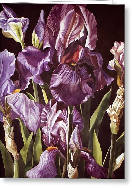 Purple Fantasy Greeting Card