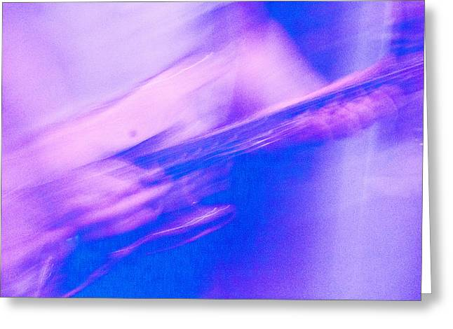 Greeting Card featuring the photograph Purple Haze by Alex Lapidus