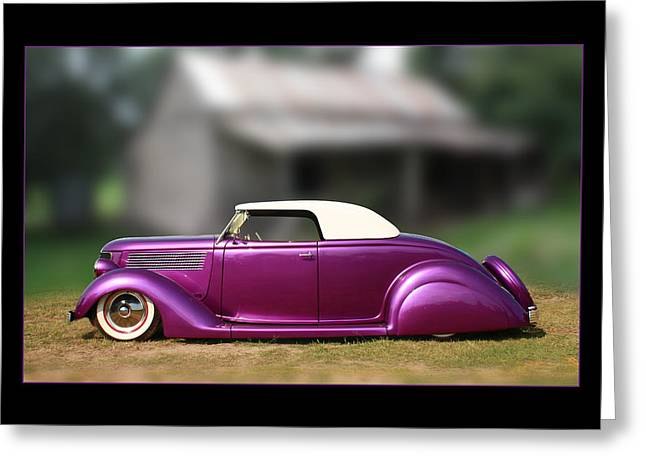 Greeting Card featuring the photograph Purple Perfection by Keith Hawley