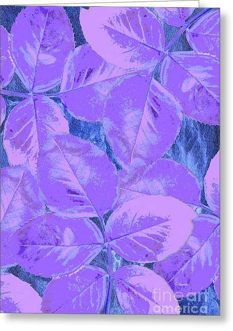 Purple Rose Clippings 1 Greeting Card