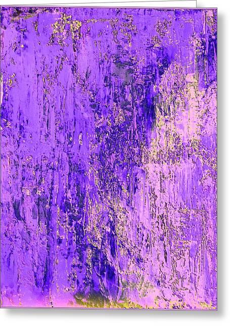 Purple Toxic Greeting Card