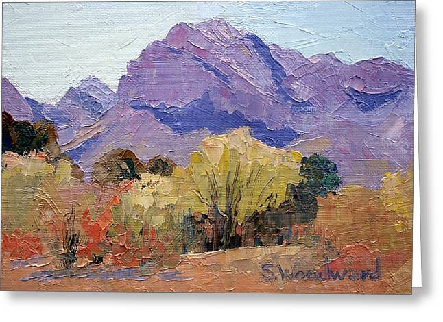 Pusch Ridge Greeting Card