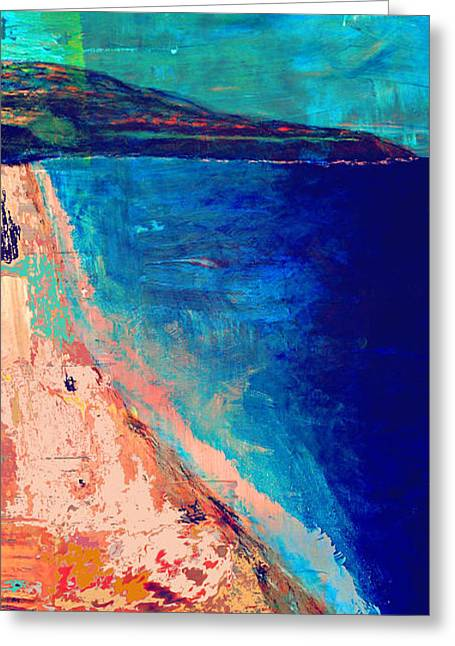 Pv Abstract Greeting Card by Jamie Frier