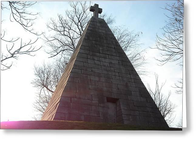 Pyramid At Dusk Greeting Card