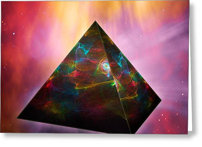 Pyramid Of Souls Greeting Card