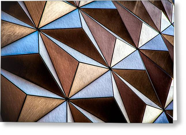 Greeting Card featuring the photograph Pyramids  by Joshua Minso