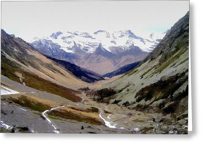 Pyrenean Landscape Greeting Card