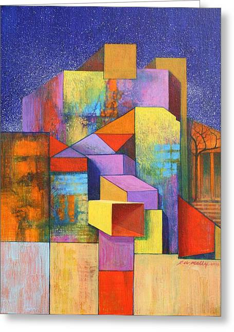 Pythagoras Revisited Greeting Card by J W Kelly