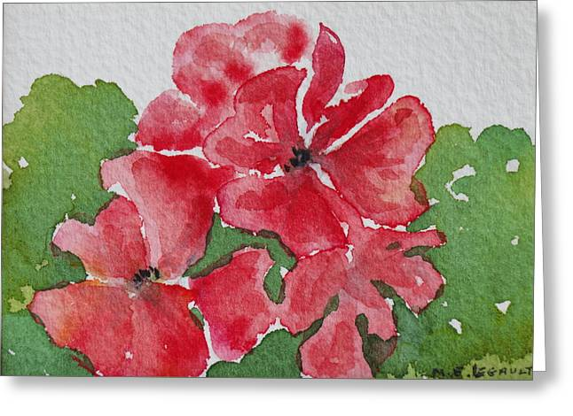 Pzzzazz Greeting Card by Mary Ellen Mueller Legault