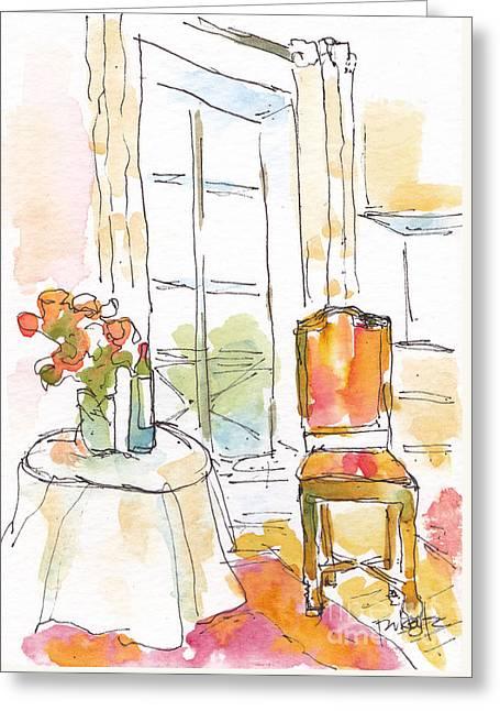 Quai Aux Fleurs - Paris Greeting Card