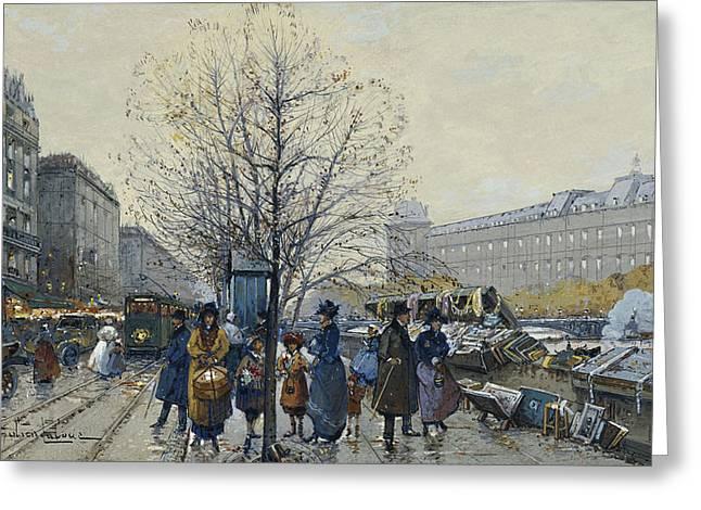 Quai Malaquais Paris Greeting Card
