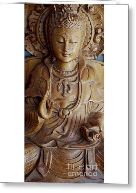 Quan Yin Compassion Greeting Card