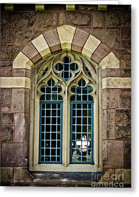 Quatrefoil Window Greeting Card