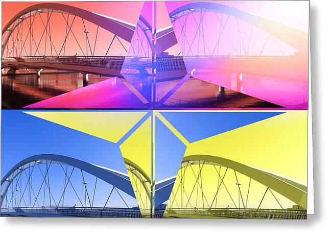 Quatro Star Bridge 1 Greeting Card
