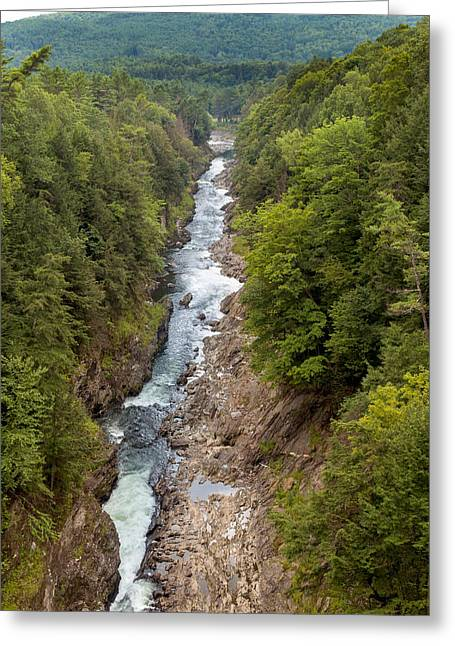 Quechee Gorge State Park Greeting Card