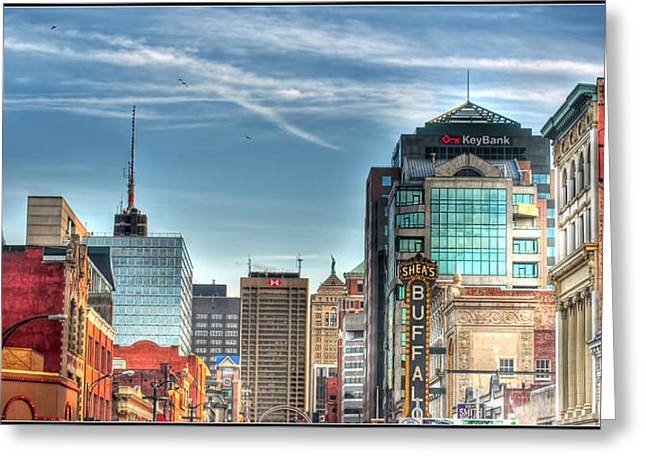 Queen City Downtown Greeting Card