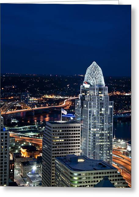 Queen City Tower Greeting Card