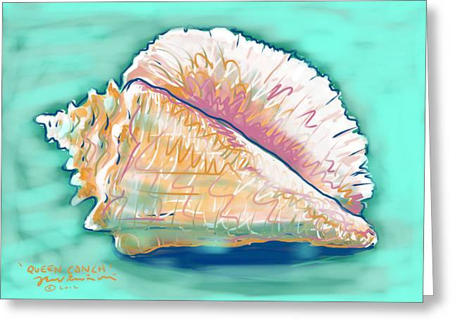 Queen Conch Greeting Card