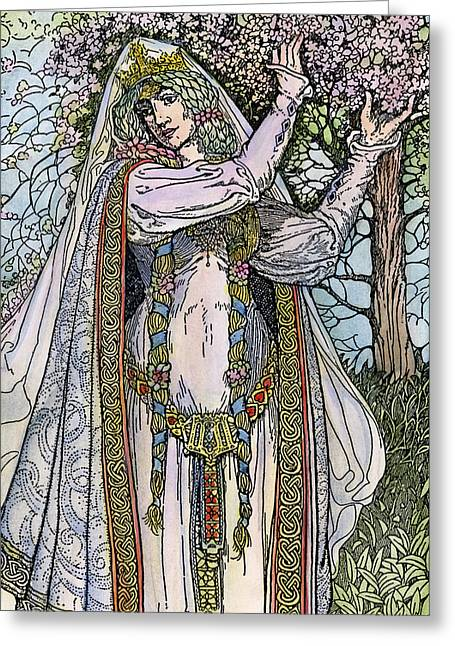 Queen Guinevere, 1923 Greeting Card by Granger