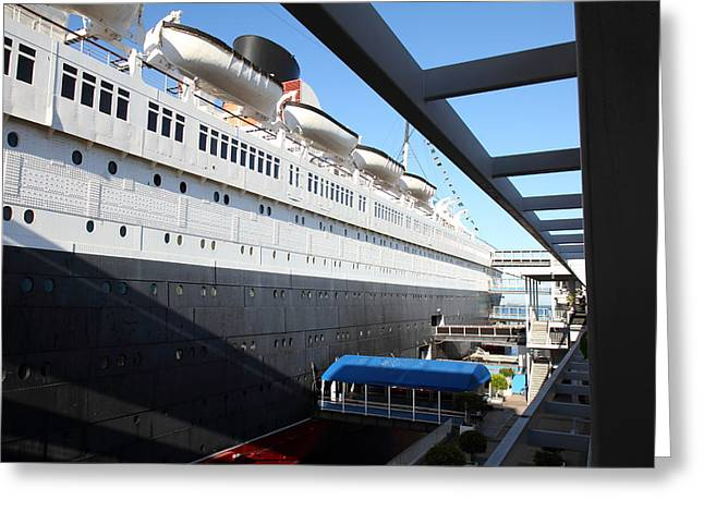 Queen Mary - 121216 Greeting Card by DC Photographer
