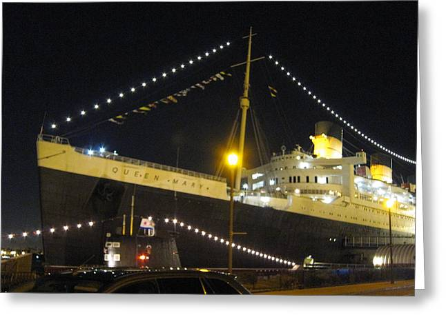 Queen Mary - 12126 Greeting Card by DC Photographer