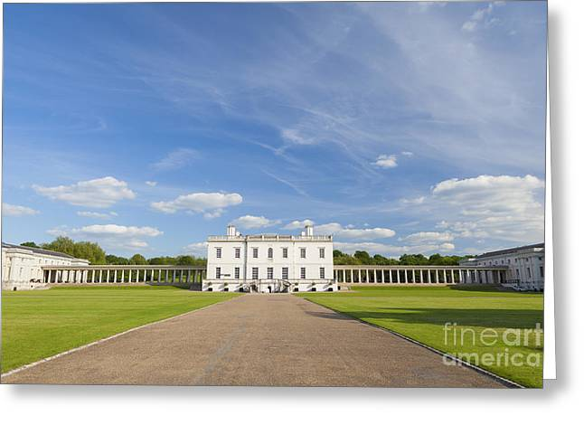 Queen's House In Greenwich Greeting Card by Roberto Morgenthaler