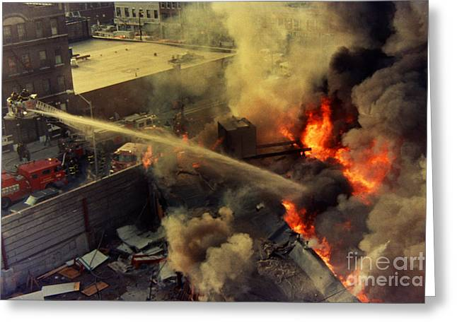Queens Third Alarm Greeting Card