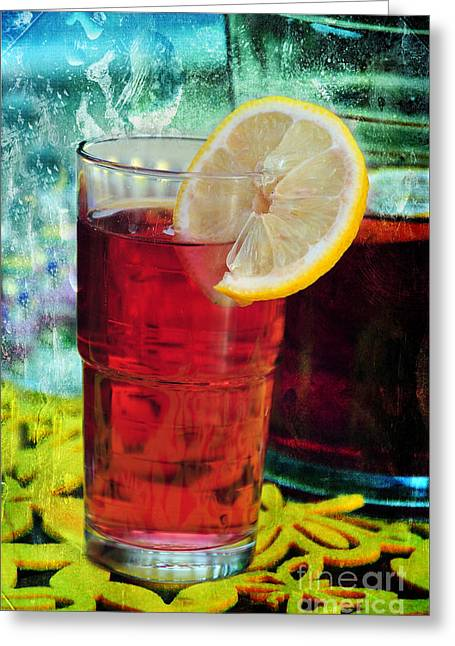 Quench My Thirst Greeting Card