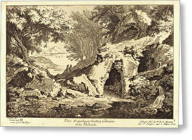 Quentin-pierre Chedel After François Boucher Greeting Card
