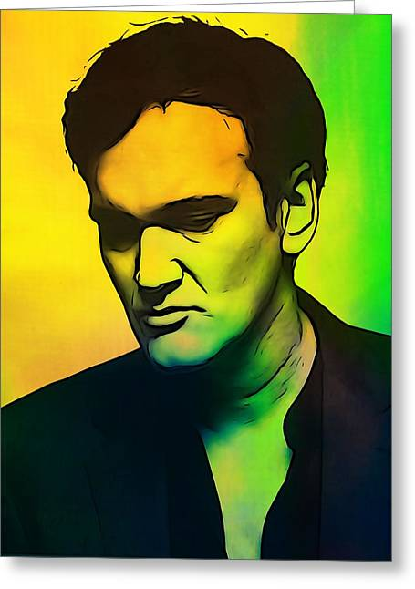 Quentin Tarantino  Greeting Card