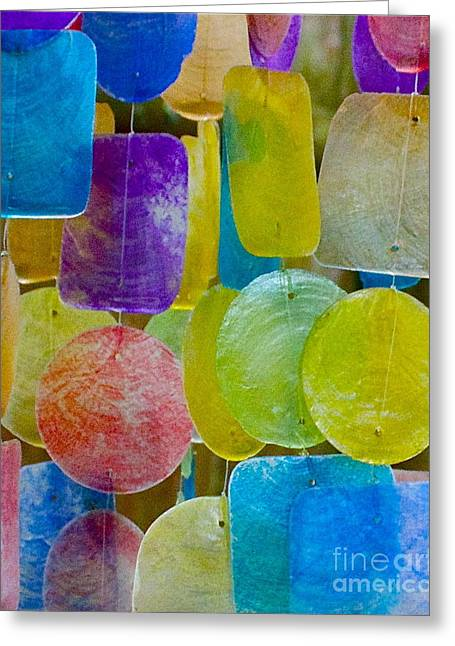 Quiet Chime Greeting Card by Alice Mainville