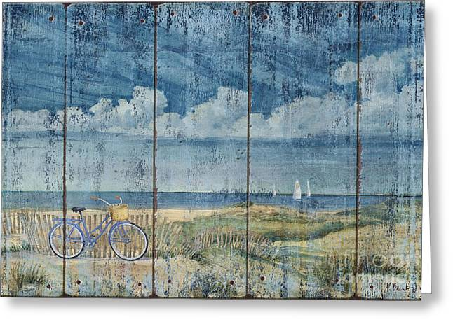Quiet Coast Greeting Card by Paul Brent