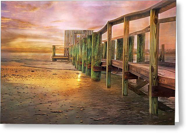 Quiet Colors Greeting Card by Betsy Knapp