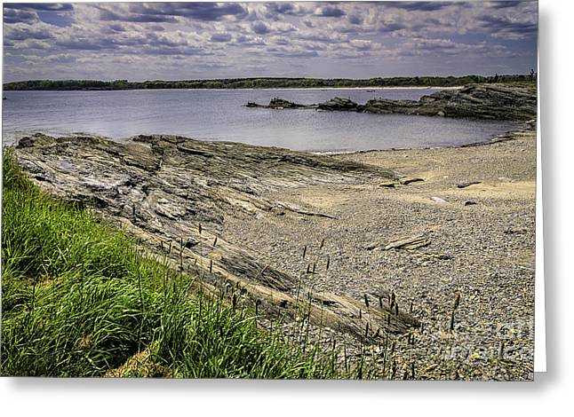 Greeting Card featuring the photograph Quiet Cove by Mark Myhaver