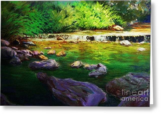 Quiet Creek Greeting Card