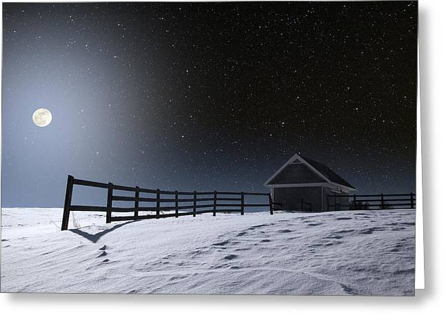 Greeting Card featuring the photograph Quiet Evening by Larry Landolfi