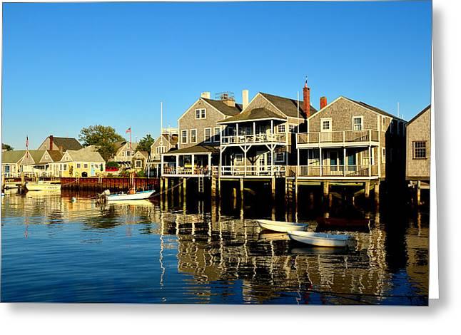 Quiet Harbor Greeting Card