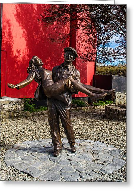 The Quiet Man  Greeting Card by Scott Hartney