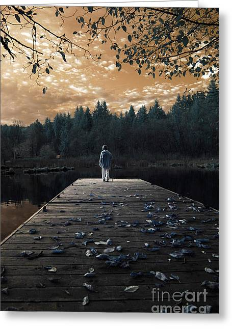 Greeting Card featuring the photograph Quiet Moments Series by Rebecca Parker