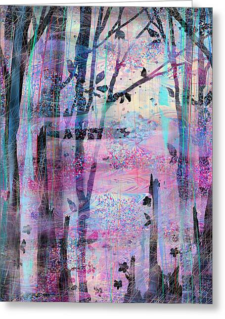 Quiet Place Greeting Card by Rachel Christine Nowicki