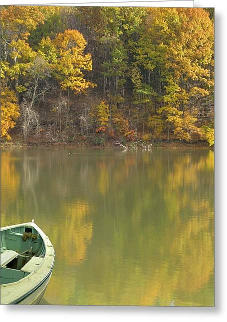 Quiet Pond Greeting Card
