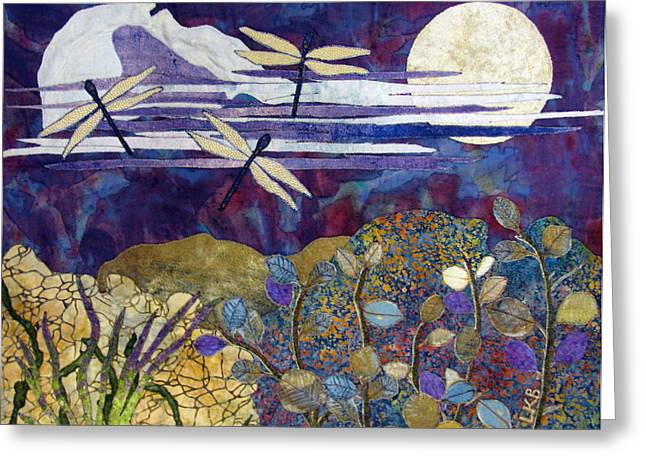 Quiet Summer Evening Greeting Card by Lynda K Boardman