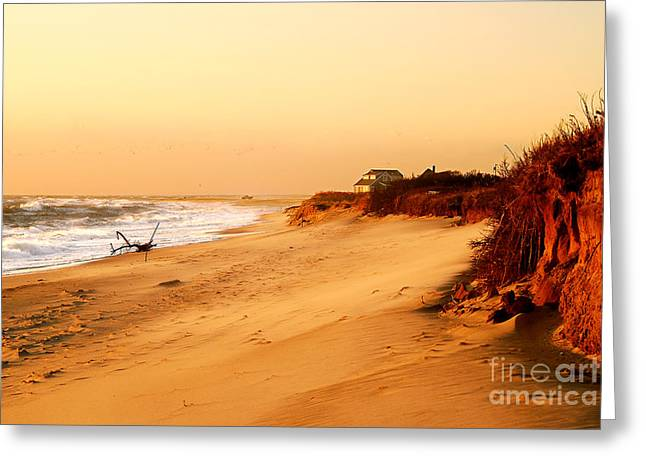 Quiet Summer Sunset Greeting Card