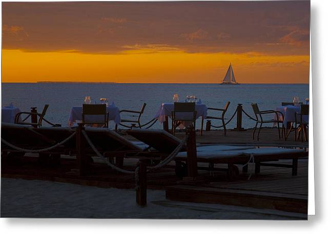Greeting Card featuring the photograph Quiet Time ... by Chuck Caramella