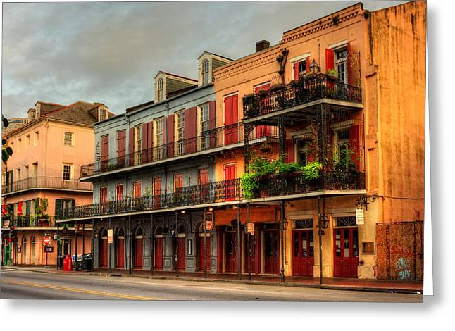 Quiet Time On Decatur Street Greeting Card