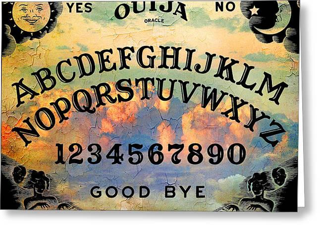 Quija Classic Greeting Card