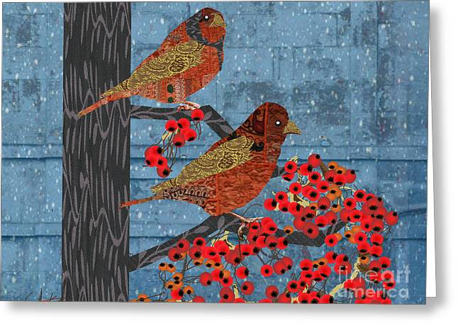 Greeting Card featuring the digital art Sagebrush Sparrow Short by Kim Prowse