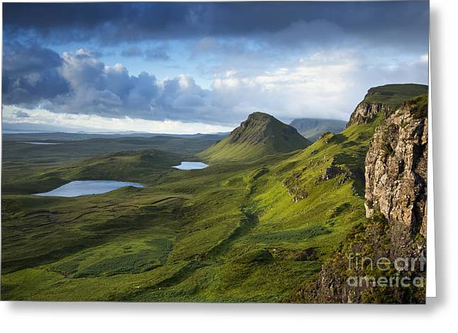 Quiraing Dawn Greeting Card