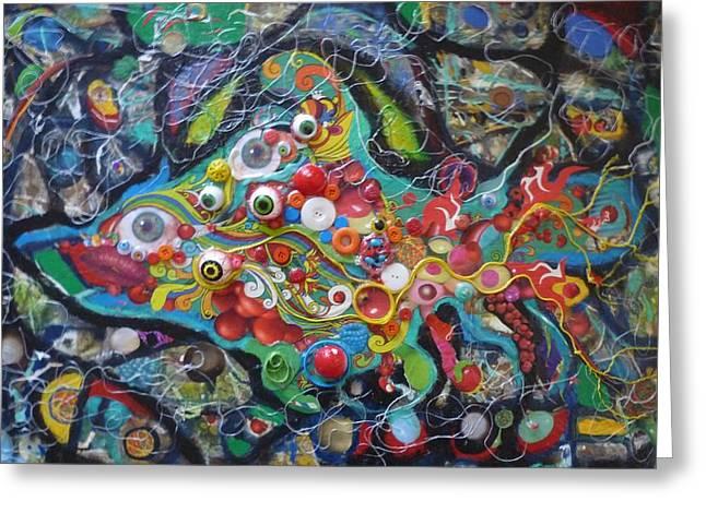 Quirkyfish Greeting Card