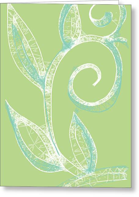 Quite Spring Greeting Card by Rajaa Qassim